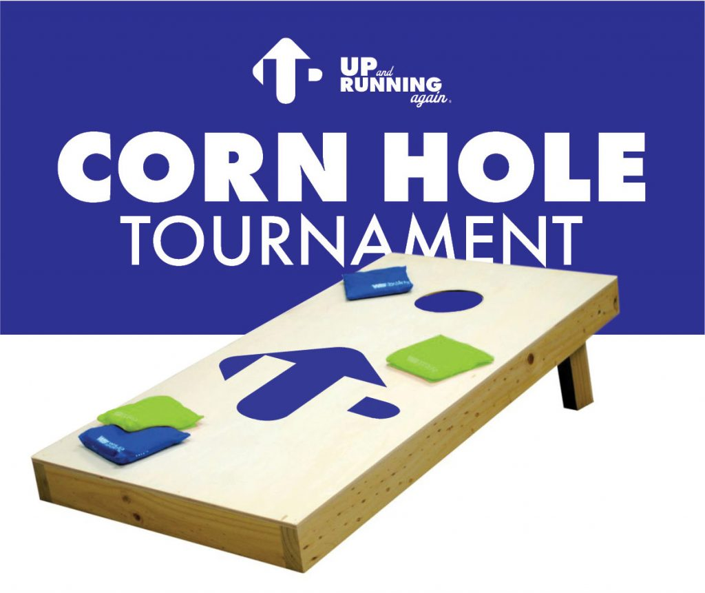 Up and Running Again Corn Hole Tournament