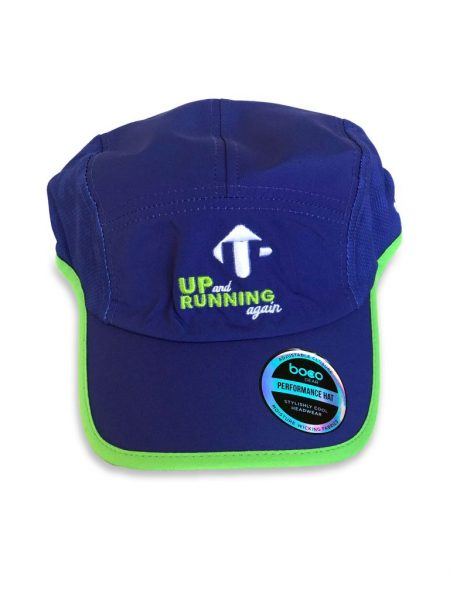 Up And Running Again Run Hat