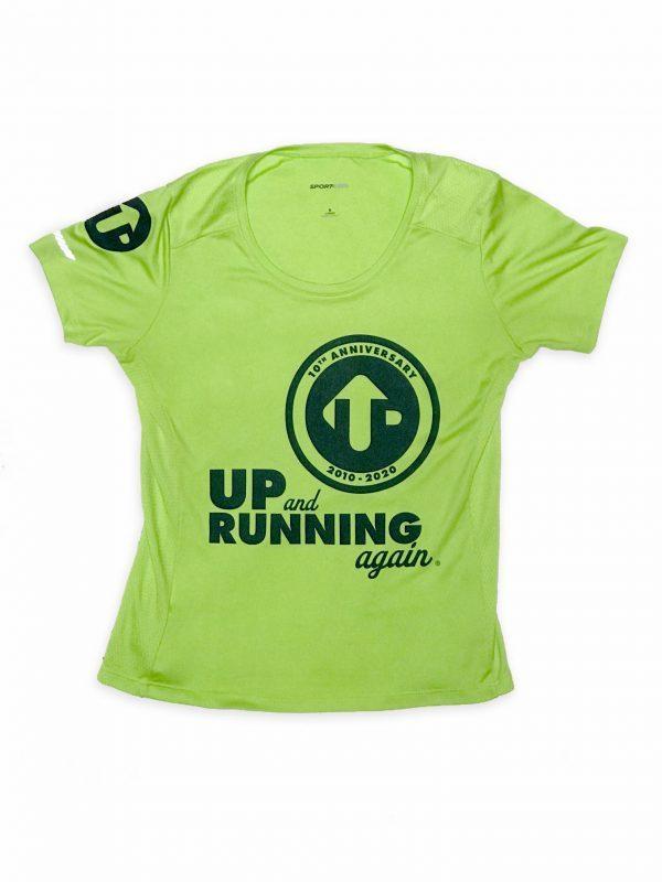 Up and Running Again 10th Anniversary shirt